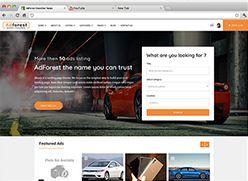 برنامج تصميم موقع سوق واعلانات مبوبة - صفحة بداية 1 صورة مصغرة