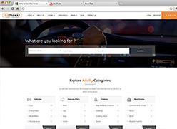 برنامج تصميم موقع سوق واعلانات مبوبة - صفحة بداية 10 صورة مصغرة