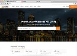 برنامج تصميم موقع سوق واعلانات مبوبة - صفحة بداية 12 صورة مصغرة
