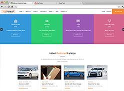 برنامج تصميم موقع سوق واعلانات مبوبة - صفحة بداية 13 صورة مصغرة