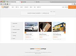 برنامج تصميم موقع سوق واعلانات مبوبة - صفحة بداية 15 صورة مصغرة