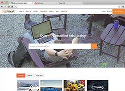 برنامج تصميم موقع سوق واعلانات مبوبة - صفحة بداية 2 صورة مصغرة