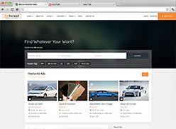 برنامج تصميم موقع سوق واعلانات مبوبة - صفحة بداية 5 صورة مصغرة