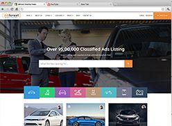 برنامج تصميم موقع سوق واعلانات مبوبة - صفحة بداية 7 صورة مصغرة