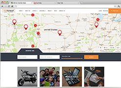 برنامج تصميم موقع سوق واعلانات مبوبة - صفحة بداية 8 صورة مصغرة