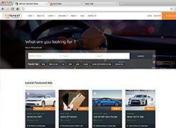 برنامج تصميم موقع سوق واعلانات مبوبة - صفحة بداية 9 صورة مصغرة