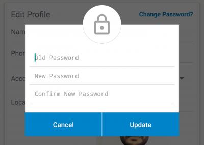 تصميم برنامج موقع سوق إلكتروني - تطبيق جوال تسجيل الدخول