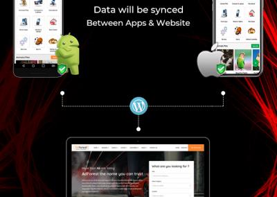 تصميم برنامج موقع سوق تسوق تسويق اعلانات مبوبة - تطبيق جوال سامسونج اندرويد ايفون ايباد تاب جالاكسي